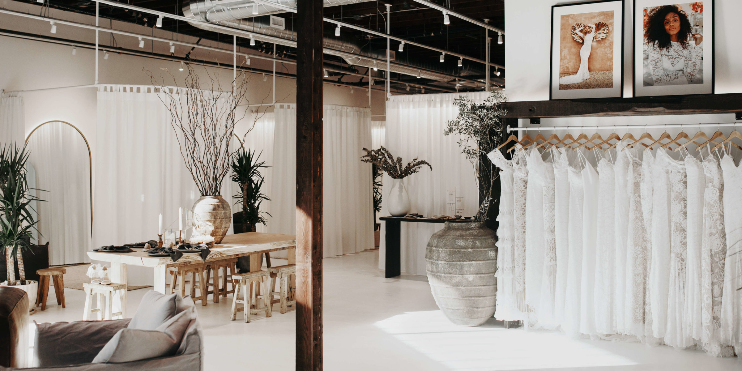 Inside the Seattle bridal showoom