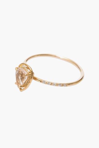Top view of Grace Loves Lace Celine Ring