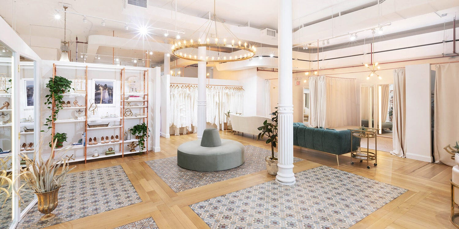 Inside Grace Loves Lace's New York Showroom Space on 43 Wooster Street