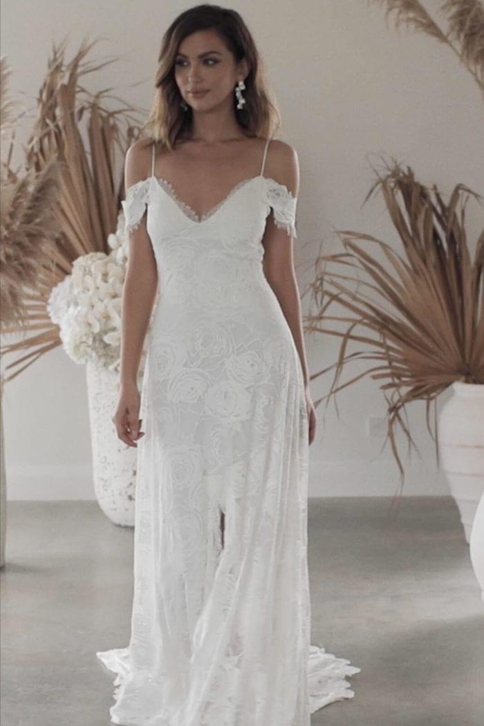 Bride wearing Grace Loves Lace Bonita Gown