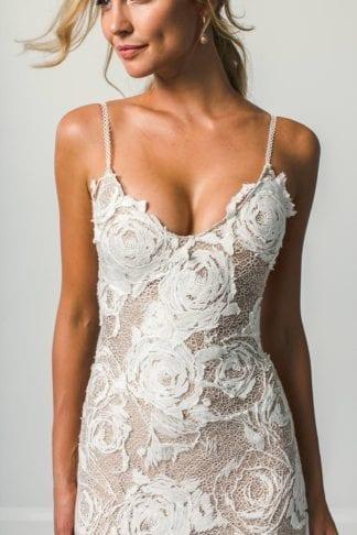 Bride wearing Grace Loves Lace Rosa Gown
