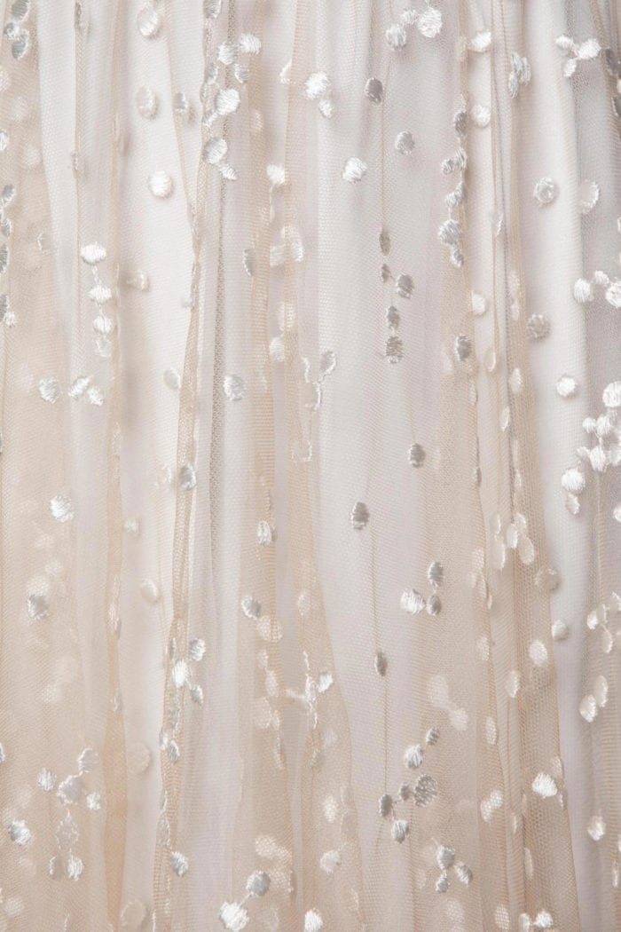 Close-up of Grace Loves Lace Menha Gown detail