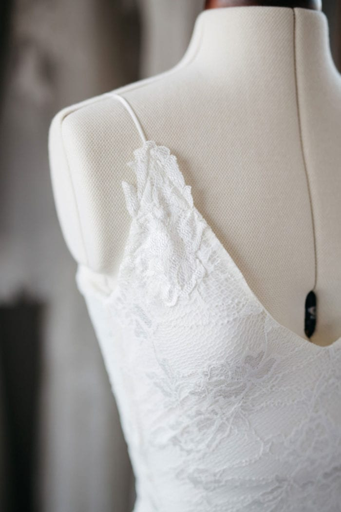 Photo of Grace Loves Lace Lottie Gown displayed on mannequin