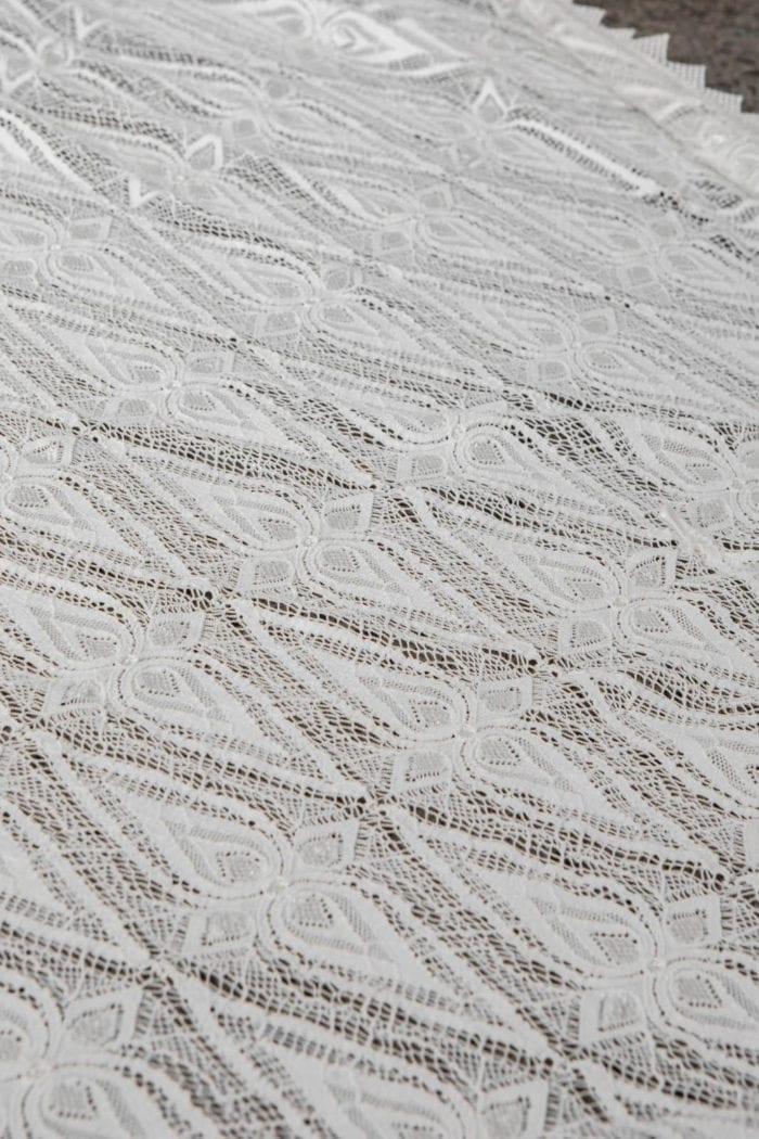 Close-up shot of Grace Loves Lace Leon Gown detail