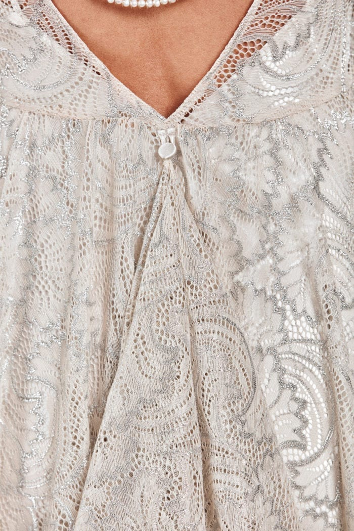 Close-up of Grace Loves Lace Bea Gown detail