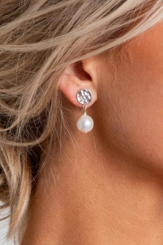 Close-up of Grace Loves Lace Lyra Earrings