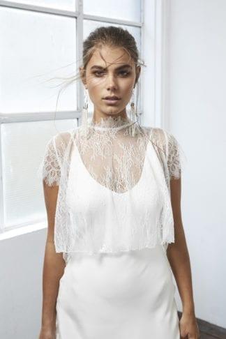 Bride wearing Grace Loves Lace Mason Top