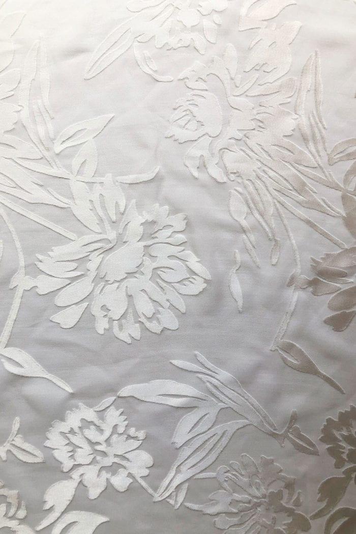 Close-up shot of Grace Loves Lace Loyola Bun Detail