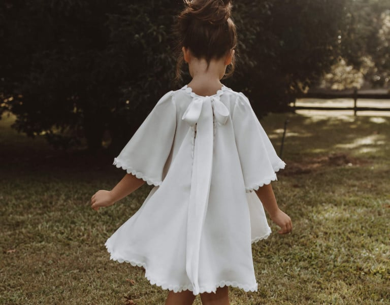 DISCOVER FOUNDER AND CREATIVE DIRECTOR MEGAN ZIEMS' INSPIRATION FOR THE NEW LITTLE GIRLS CAPSULE RANGE, GRACE MINI