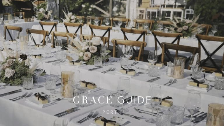 The GRACE Guide: Perth Wedding Vendors We Love