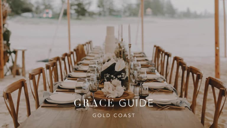 The GRACE Guide: Gold Coast Wedding Vendors We Love