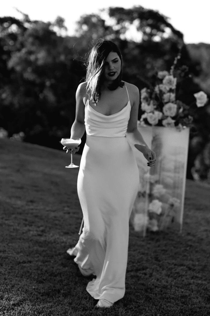 Honey Silk Dress
