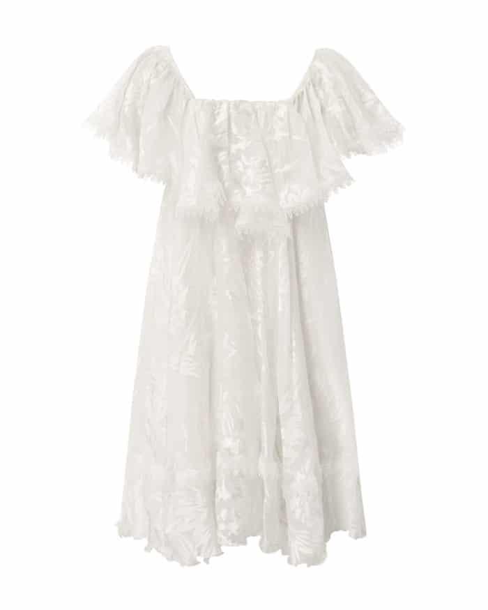 Mini Loyola Frill Dress