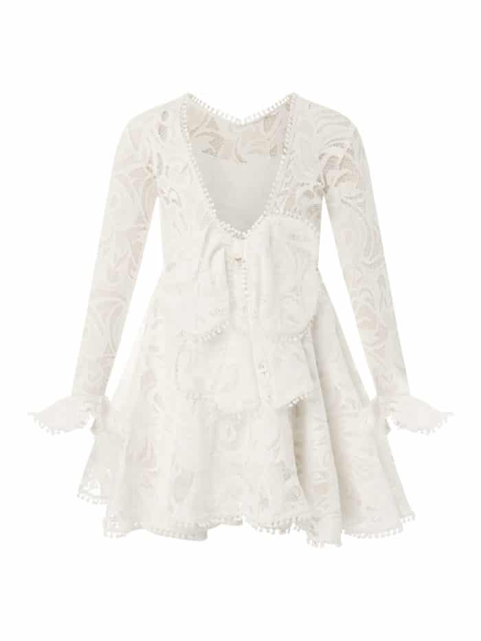 Mini Lace Twirl Dress