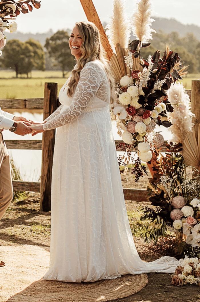 Jess in the Vita Gown