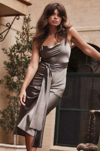 The Anya Olive Dress