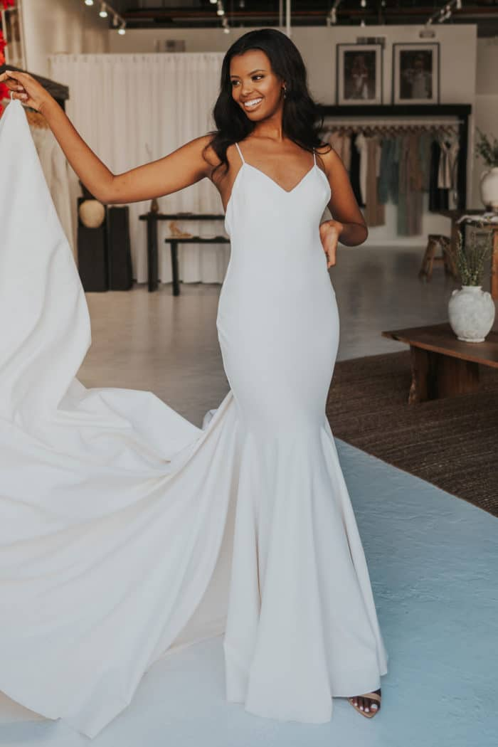 The Clo Crepe Gown