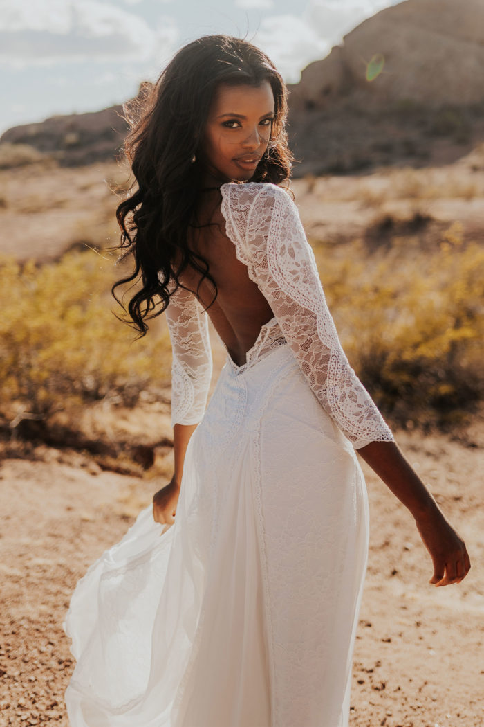 The Inca Wedding Gown