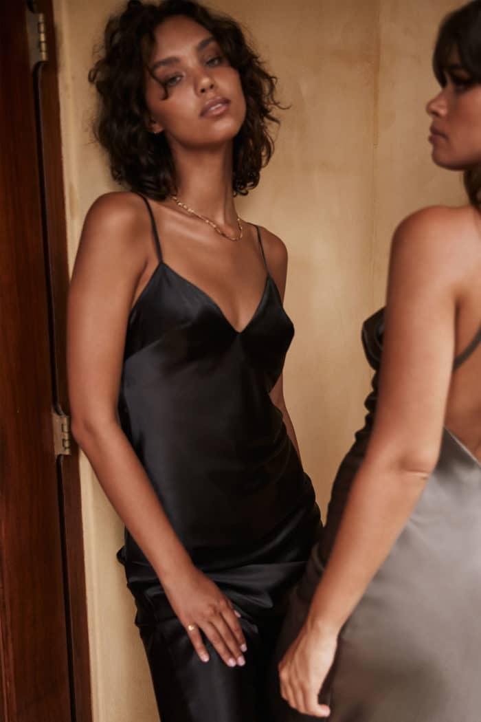 The Dakota Black Dress