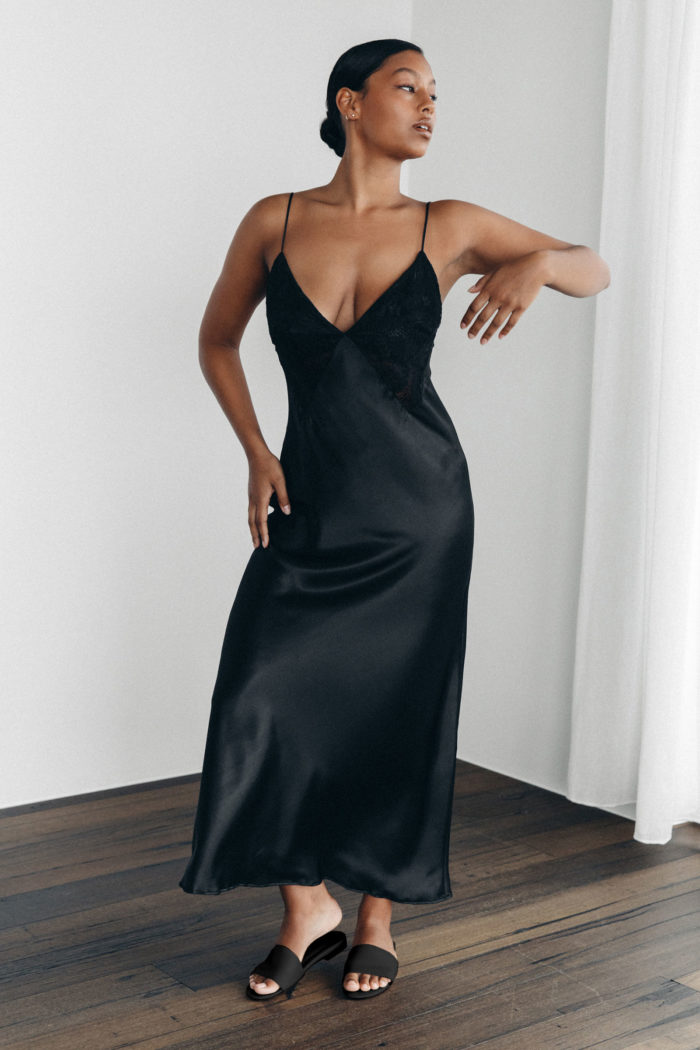 The Ida Black Dress